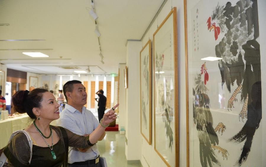 Calligraphy and painting exhibition of Wang Shijun