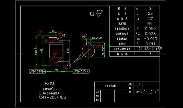 干货:装配好u盘,cad图纸机械螺纹制图准备300直标注图纸零件图片