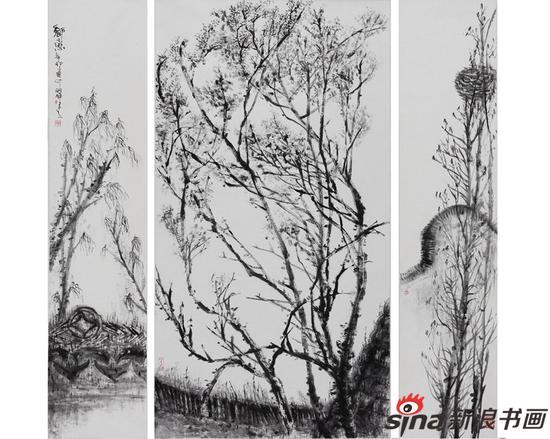 展览预告 乡梦墨馨:吴洪晖中国画作品展