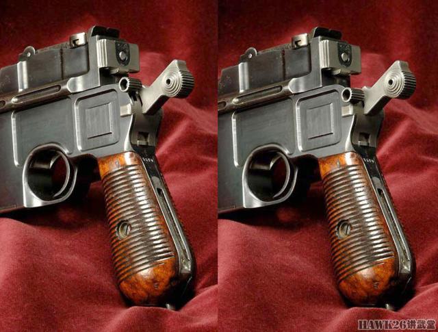 细品:毛瑟c96手枪 100年前的德国机械设计 至今依旧动人心魄